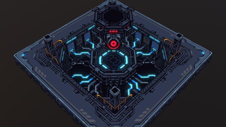 Starmancer Core 3D Model