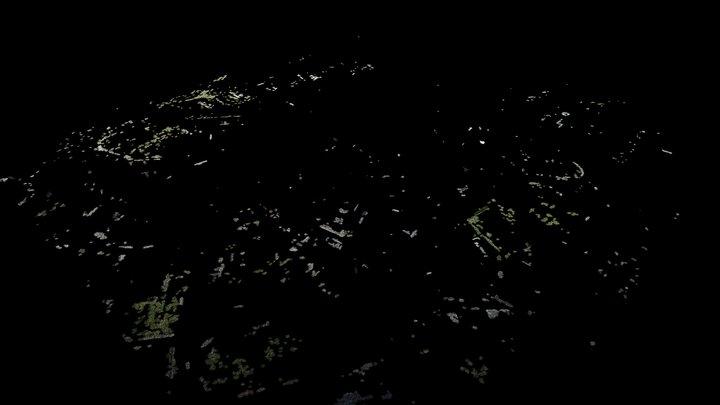 Stadtplanung (Vorschau vereinfachte Punktwolke) 3D Model