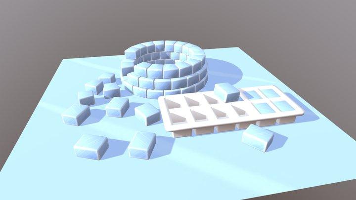 3December day 7: Igloo 3D Model
