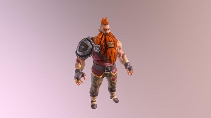 Dwarf Unity Game Dev Courses 3D Model