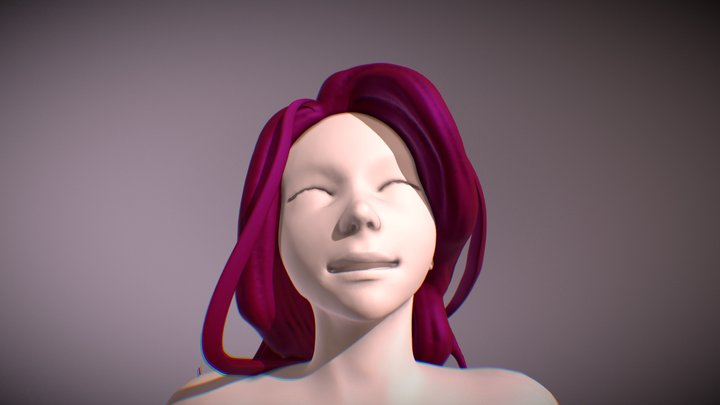 Sculpt January Day 31 - Happiness 3D Model
