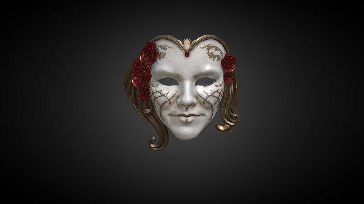Venezian Mask 3D Model