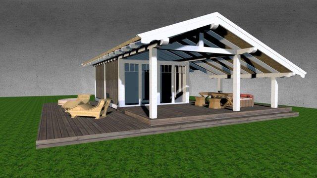 Sauna 2 3D Model