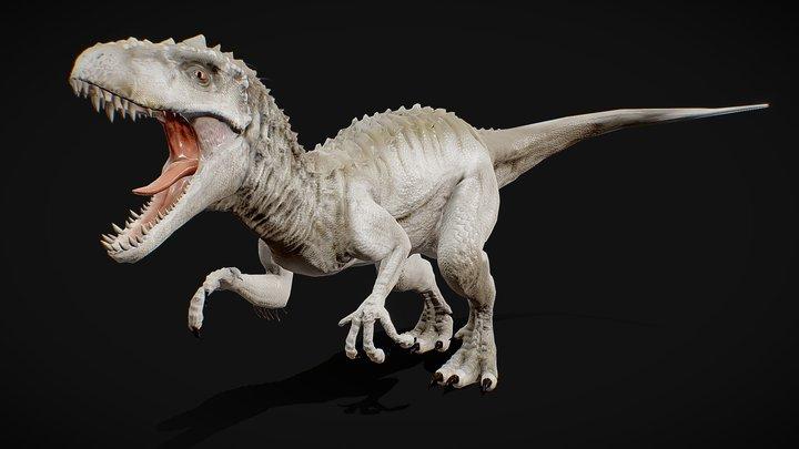 Indominus Rex [4k textures] FREE 3D Model