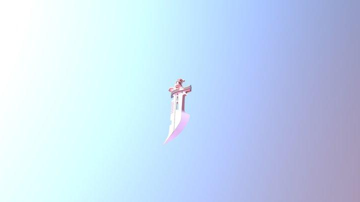 Cool Sword 3D Model