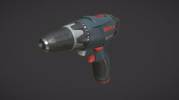 Power Drill 3D Model