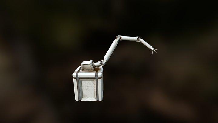 Lab Robot Arm 3D Model