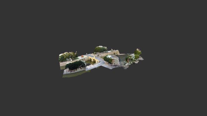 Puente Carlos III, Rojales, Alicante 3D Model