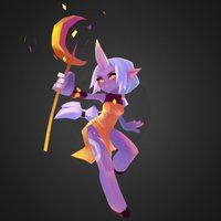 Little Soraka 3D Model