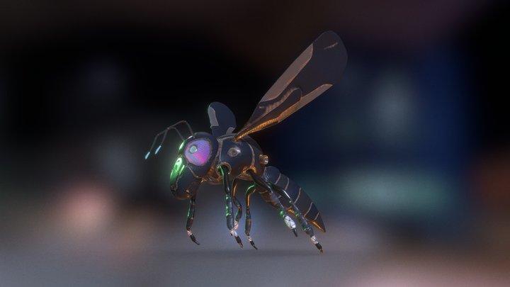 Tech Hornet 3D Model
