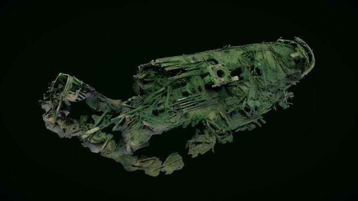 Shipwreck s/s Skiftet 3D Model