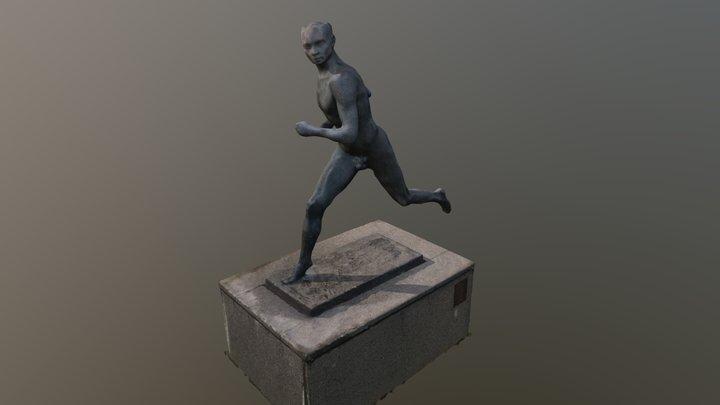 Statue of Paavo Nurmi 3D Model