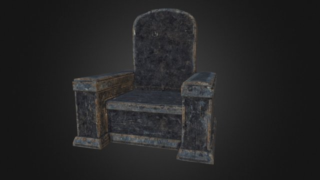 Throne Low 3D Model