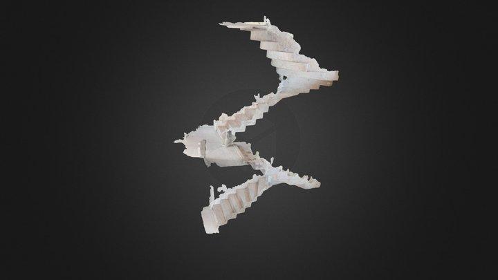 Stairway 2 3D Model