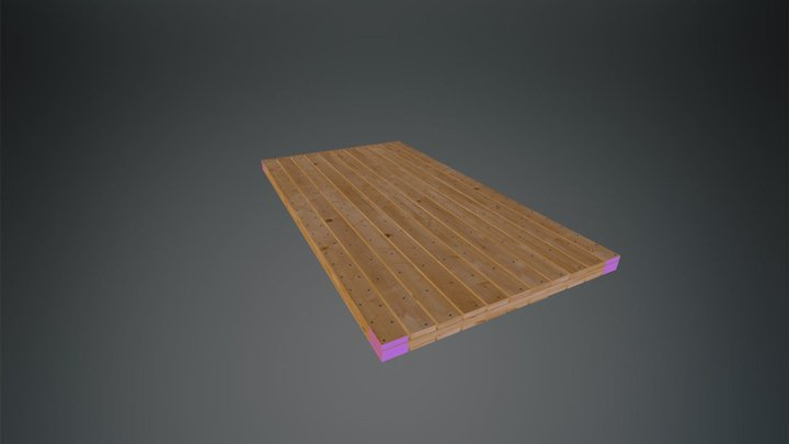 Laminated Mat - Quality Mat Company 3D Model