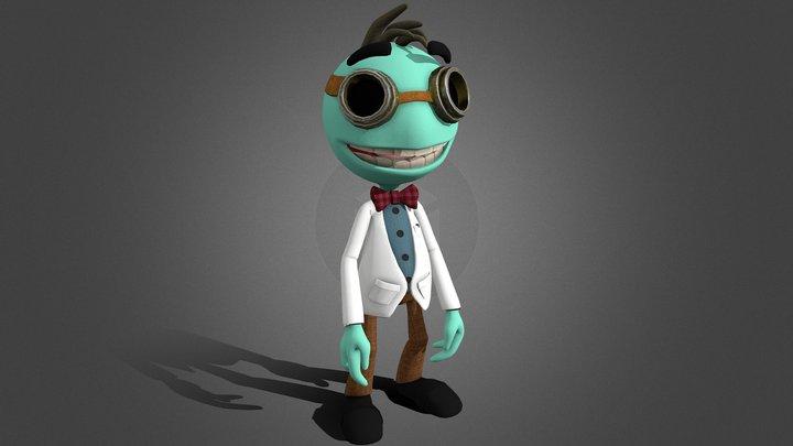Junior Scientist 3D Model