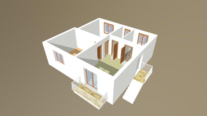 Appartamento Padova Isola di Torre 3D Model