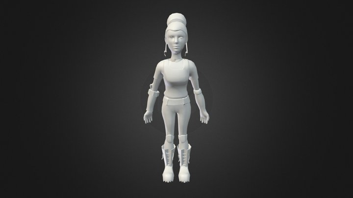 Zaz Newhead 3D Model