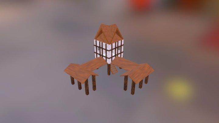 Centro Urbano Age of Empires II (TP) 3D Model