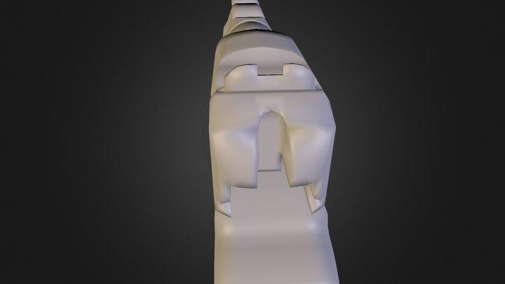 Pistol N E Lowpoly17 3D Model