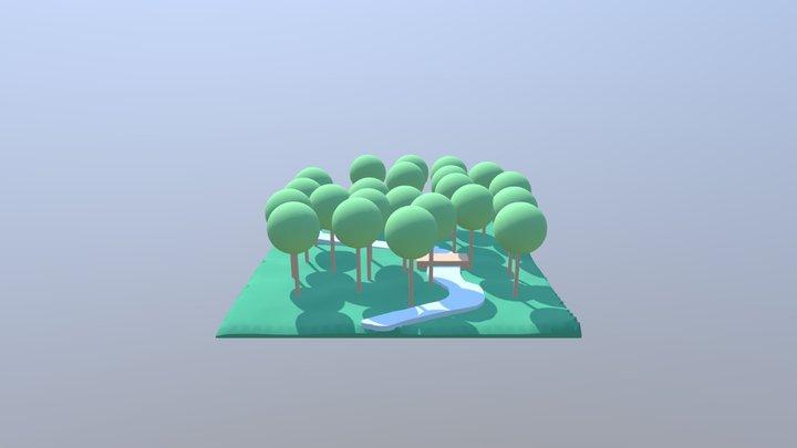 woods 3D Model
