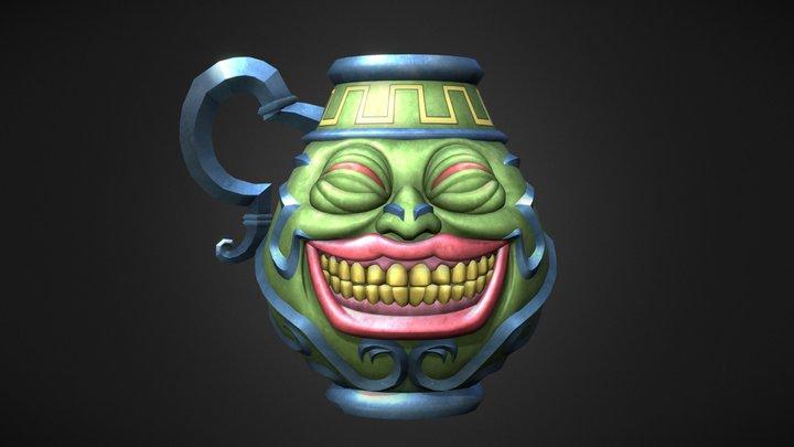 Pot of Greed 3D Model