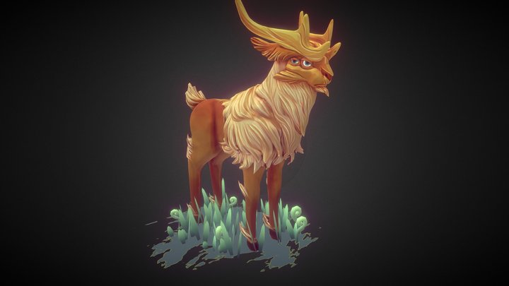 Fantasy_Hart 3D Model