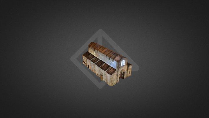 Chiesa San Giorgio Martire Petrella 1M-2TX 3D Model