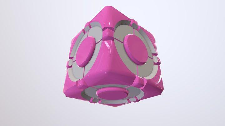 Compnion Cube 3D Model