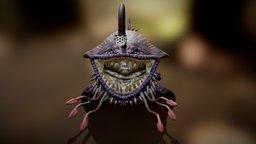 Monster Hunter 3/3 Ultimate - Fanart/Mod - Gobul 3D Model
