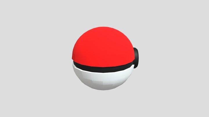 Pokebola 3D Model