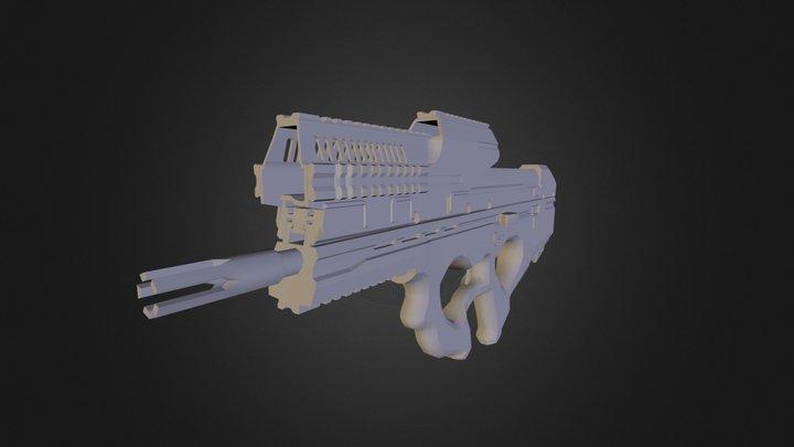 [WIP]  Rifle AE 0006 3D Model