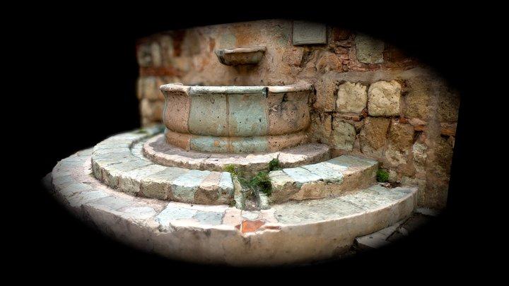 Fuente del acueducto de San Felipe del Agua 3D Model