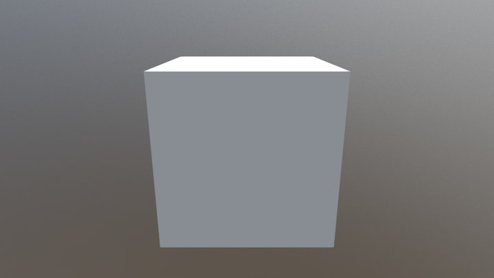 test box anim 3D Model