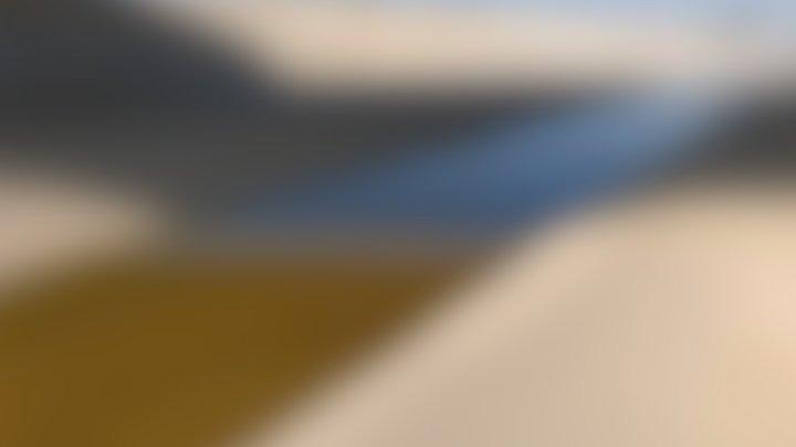 Levantamiento cantera en Cartago 3D Model