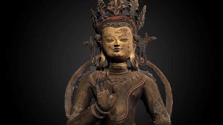 Tibetan Amoghasiddhi Buddha, 13th C CE 3D Model