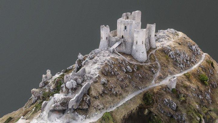 Castle of Rocca Calascio 3D Model