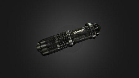 Artec-Spider flashlight 3D Model