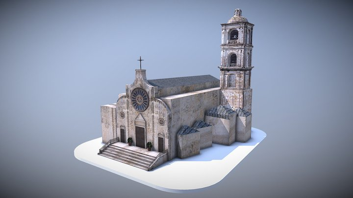 Chiesa di San Lorenzo - Laterza (TA) 3D Model