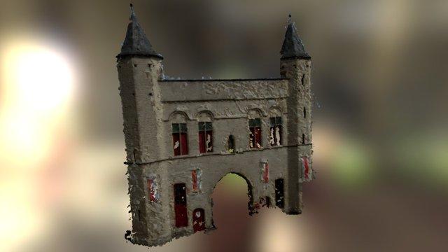 Kruispoort gate 3D Model
