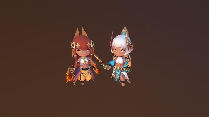 Bera&Indra 3D Model