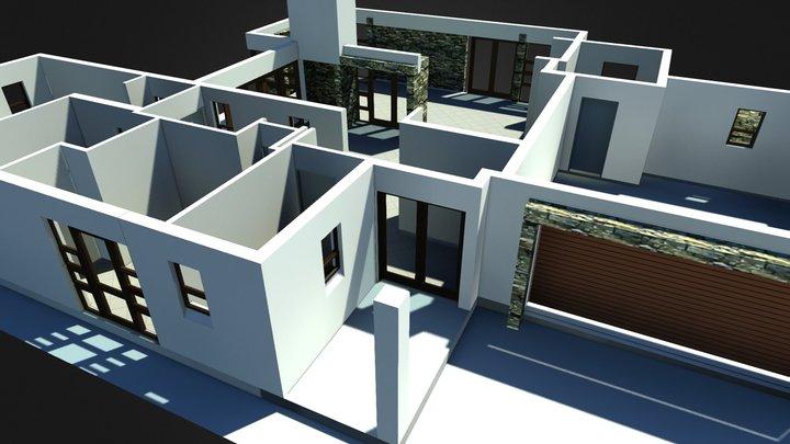 House PlanA_01 3D Model
