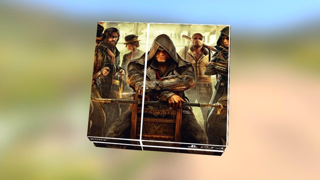 Assassins Creed Syndicate PS4 Skin 3D Model