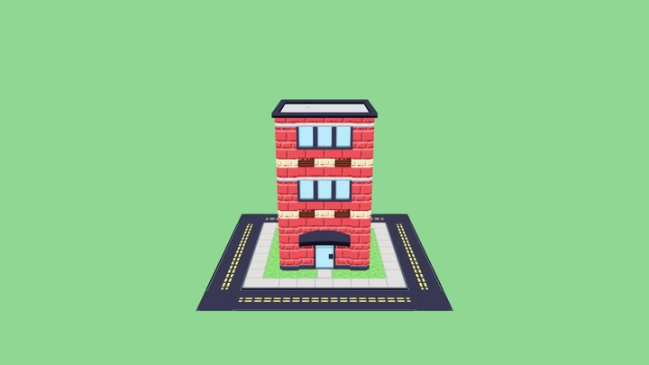Sprytile Apartment 3D Model