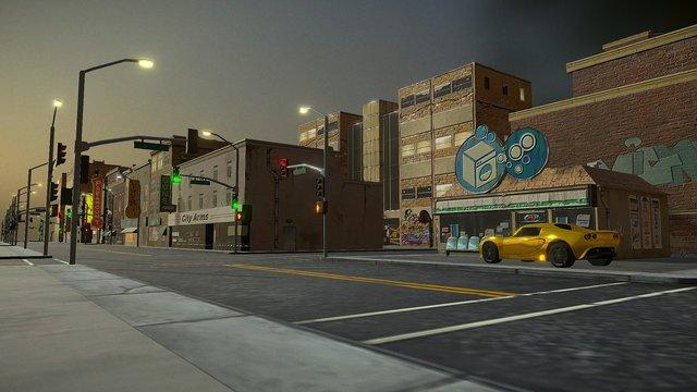 CCity Building Set 1 3D Model