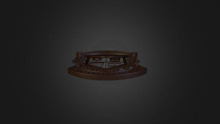 MSM Logo 3D Model