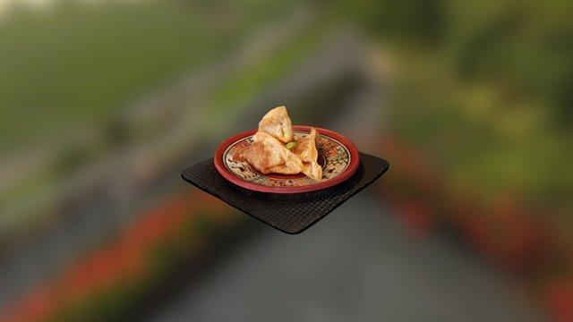 Fried Dumplings *OLD MODEL* 3D Model