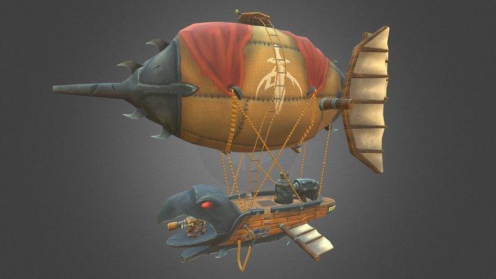 Goblin Zeppelin 3D Model