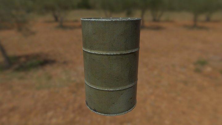 Oil Drums BMS 3D Model