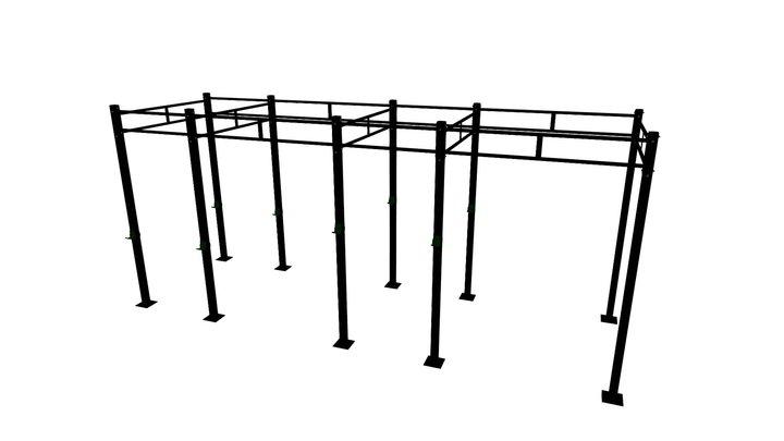 Rack Crossfit 3D Model